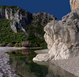 Olympos. Beautiful view of Olimpos Bay Royalty Free Stock Photos
