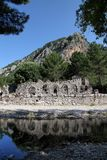 Olympos ancient city. In Kumluca,Antalya, Turkey Royalty Free Stock Photo