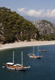Olympos beach (Lycia) Antalya Royalty Free Stock Images