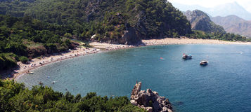 Olympos beach (Lycia) Antalya Royalty Free Stock Photo