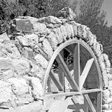 olympos   bush gate  in  myra  the      old column  stone  const Stock Image