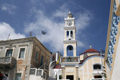 Olympos church - Karpathos Royalty Free Stock Image