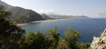 Olympos et Cirali Images stock