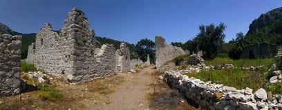 Olympos forntida plats, Antalya, Turkiet royaltyfri fotografi