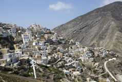 Olympos - Karpathos Photo stock