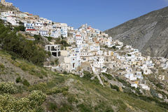 Olympos on Karpathos island, Greece Royalty Free Stock Images