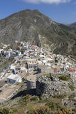 Olympos on Karpathos island, Greece Royalty Free Stock Image