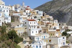 Olympos on Karpathos island, Greece Royalty Free Stock Photography