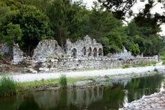 Olympos miasta antykwarskie ruiny w Antalya Obraz Royalty Free