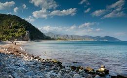 Olympos plaży widok obrazy royalty free