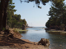 Olympos, région d'Antalya, Turquie Photos stock