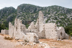 Olympos ruines in Cirali. Kemer, Turkey Stock Image
