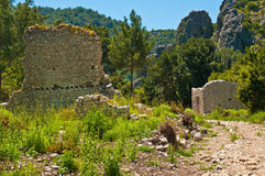 Olympos ruins Royalty Free Stock Photo