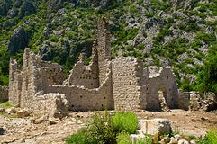 Olympos ruins Stock Photos