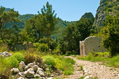 Olympos ruins Stock Photo