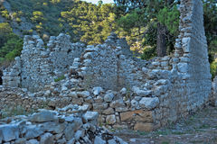 Olympos ruins Stock Images