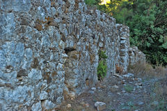 Olympos ruins Royalty Free Stock Images