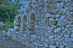 Olympos ruins Royalty Free Stock Photography