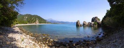 Olympos wybrzeże, Antalya, Turcja obraz stock