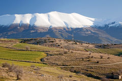 Olympus berg Arkivfoton