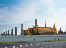 The Grand Palace has been the official residence of the Kings of Siam since 1782 at the heart of Bangkok. BANGKOK, THAILAND. – On October 09 royalty free stock photography