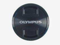 Olympus lens cap Royalty Free Stock Images
