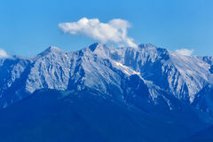 Olympus Mountain in Greece Royalty Free Stock Images