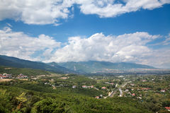 Olympus region Greece Royalty Free Stock Image