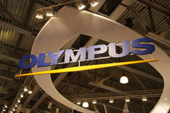 Olympus signboard Royalty Free Stock Photo