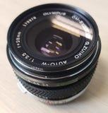 Olympus tappninglins fotografering för bildbyråer