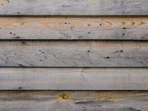 Omålade listbräden Arkivfoto