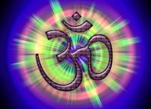 OM/AUM - σύμβολο του απόλυτου! Στοκ φωτογραφία με δικαίωμα ελεύθερης χρήσης