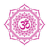 Om aum sign Royalty Free Stock Image