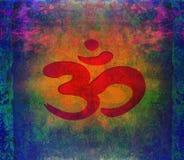 Om aum symbol Obrazy Royalty Free