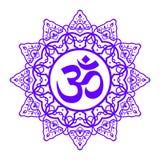 Om Aum symbol Zdjęcia Royalty Free