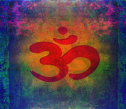 Om aum symbol Royalty Free Stock Images