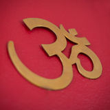 Om or Aum Symbol Image Royalty Free Stock Images