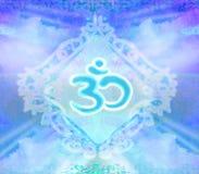 Om aum symbol Stock Images