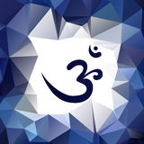 Om or Aum symbol Stock Images
