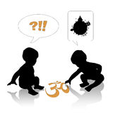 Om babies Royalty Free Stock Images