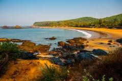 Om beach, Gokarna, Karnataka, India Royalty Free Stock Image