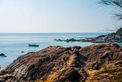 Om beach, Gokarna, Karnataka, India Royalty Free Stock Photography