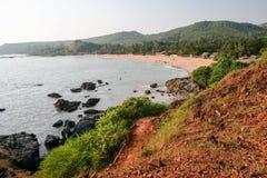 Om beach india karnataka Royalty Free Stock Images