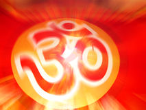 OM-THE BEGINNING OF SPIRITUAL EVOLUTION Stock Images