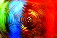Om Chakra royalty-vrije stock fotografie