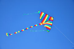 Om de vlieger te vliegen Stock Foto's