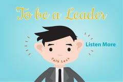 Om een leider te zijn Stock Afbeeldingen