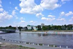 Om-flod Royaltyfri Foto