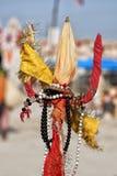 Om hindu symbol motif Stock Photography