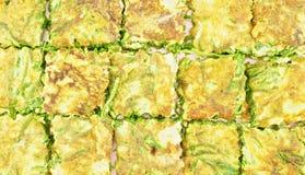 OM khai lub akaci omelette tekstura zdjęcie royalty free